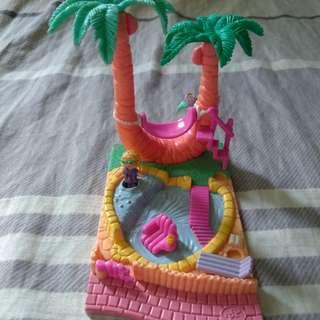 1994 Polly Pocket  Palm Tree Playset