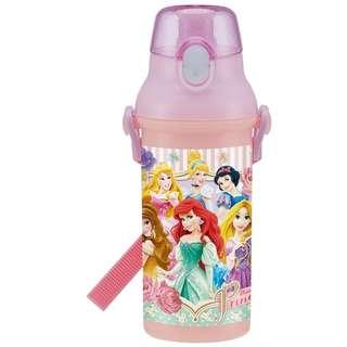 日本代購: 廚房系列: Skater (日本製) Disney Princess Time 迪士尼 公主時間款 兒童用  水壺/水樽 (非保溫)