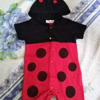 Baby beetle suit