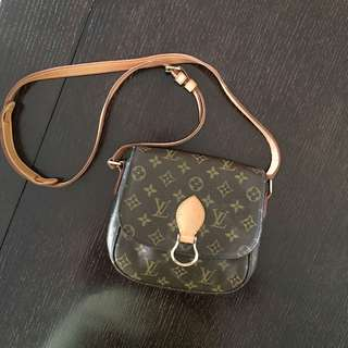 Louis Vuitton Saint Cloud Monogram crossbody messenger bag