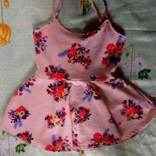 Sleeveless dress floral