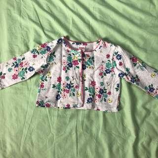Gymboree Floral Cardigan