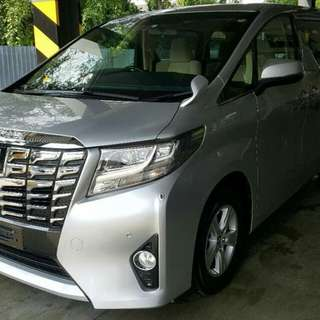 TOYOTA ALPHARD 2.5 NEW MODEL