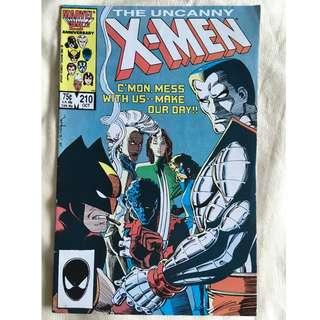 The Uncanny X-Men No. 210