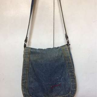 Polo Jeans Co. Denim shoulder bag
