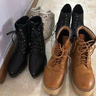 Shoes boots high cut
