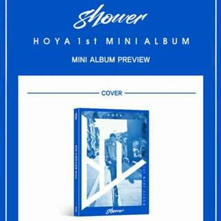 HOYA 1ST MINI ALBUM: SHOWER