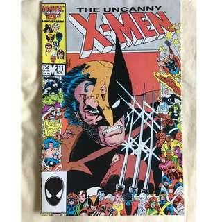 The Uncanny X-Men No. 211