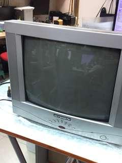 (hold) 大牛龜電視 14吋 免費 大角咀自取