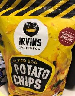全場最平 Irvins salted egg chips 103g small size