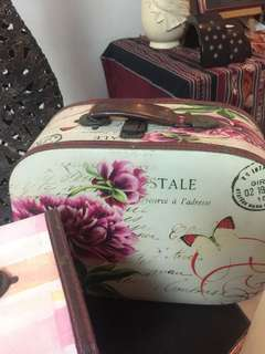For Rent Vintage suitcase