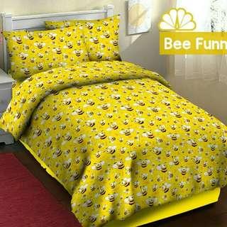 Sprei anak bee Funny (120x200x30)