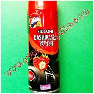 Instant Shine Non-Greasy Automotive Silicone Dashboard Vinyl Spray Wax Polish For Car & Motorbike DIY Groomers