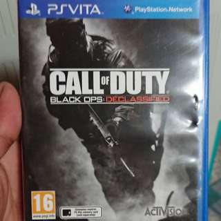 Call of duty black ops:declassified ps vita game