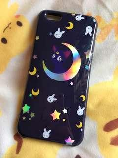 Soft TPU Luna iPhone 6/6s Case 美少女戰士露娜鐳射軟殼