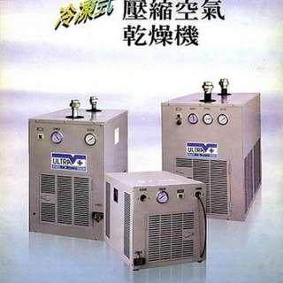 5HP 氣冷式冷凍空氣壓縮乾燥機(附後部冷卻器)