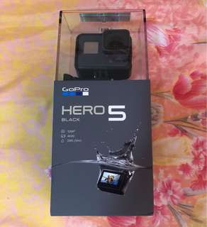 BNIB GoPro hero 5 black with accessories