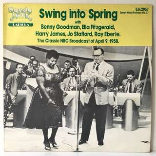 Various ‎– Swing Into Spring (1981 USA Original - Vinyl is Mint)