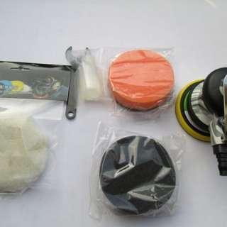 🚚 3-4 吋氣動研磨機.打臘機-小面積打臘用及汽車美容罐專用