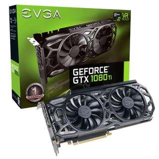 EVGA 1080Ti 11GB GRAPHIC CARD BRAND NEW