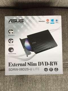 ASUS External Slim DVD RW Optical Drive