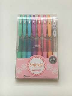SARASA Milk Color 0.5 Ink Pens