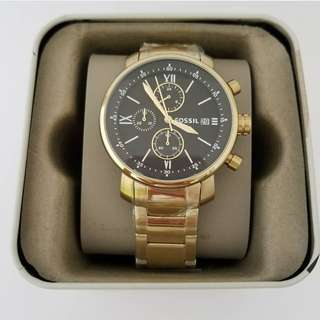 Fossil Men's Gold Watch