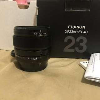 Fujifilm XF 23mm F1.4 過保水貨