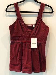 COUNTRY ROAD Cami BNWT XS RRP$99.95
