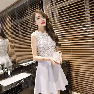 KOREAN LACEY DRESS (pre-order 170115 )