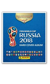 Hard Cover Panini 2018 World Cup sticker album