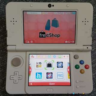 New Nintendo 3ds Regular CFW 32gb