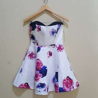 MDS tube floral dress