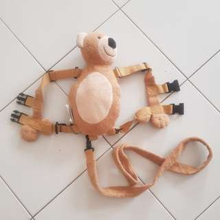 Teddy bear kids harness with free courier