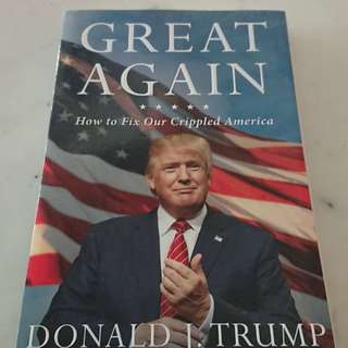Great Again by Donald J Trump