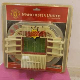 Manchester United Old Trafford Talking Alarm Clock