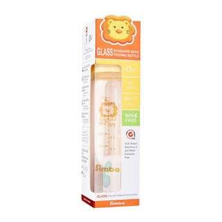 Simba ultra light standard neck glass feeding bottle 240ml