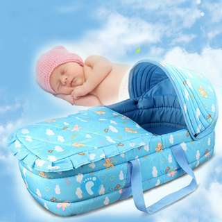 Infant Baby Cot Portable Baby Cradle Bed