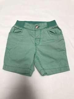 Celana pendek hijau H&M