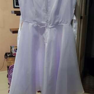White dress/ graduation dress