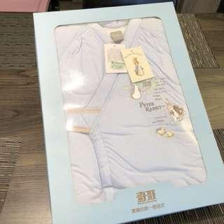[全新]奇哥彼得兔新生兒禮盒 睡袍