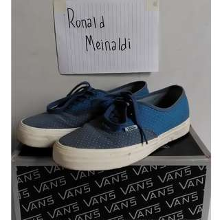 Vans vault authentic LX microdots bluestone