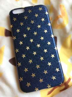Semi soft star pattern case for iPhone 6/6s 半包星星半硬殼