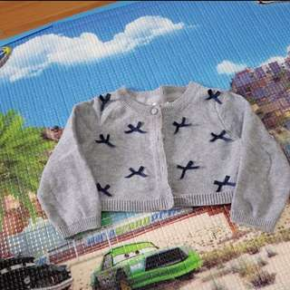 Miki baby sweater 0-6m