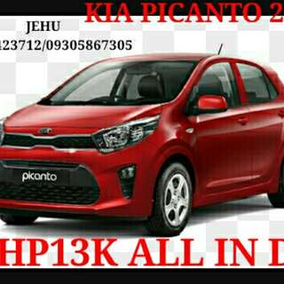 Kia Picanto 2018 - Kia Motors All In Low Downpayment Promos