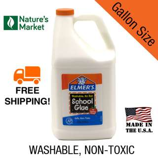 Elmer's School Glue Gallon Size for Slime Making