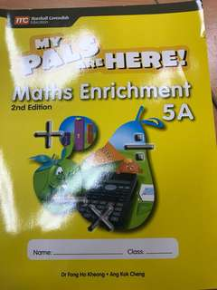 My Pals Are Here P5A Maths Enrichment