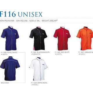 2pcs Unisex F1 Uniform,Business Shirt,Corporate Shirt F116