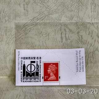 uk(英國)stamp-souvenir sheet