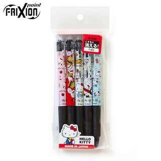 Japan Sanrio Hello Kitty Frixion Knock Pen 5 Design Set